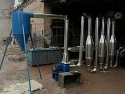 Аэродинамическая сушилка для опилок и лузги