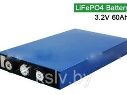 Аккумулятор MS30135180. LiFePO4 3. 2v60Ач
