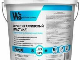 Акриловый герметик для наружного шва WS
