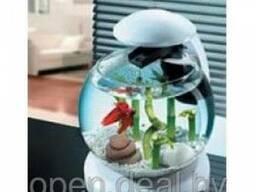 Аквариум круглый Tetra Cascade Globe (6,8л), на подставке с о