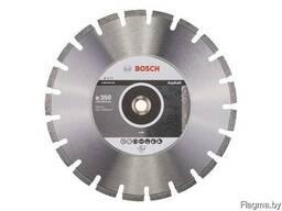 Алмазный круг 350х20/25.4 мм по асфальту сегмент.