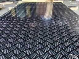 Алюминиевый лист рифленый от 1,5 до 4мм. Резка в размер