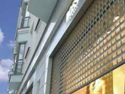 Алюминиевые роллетные решетки