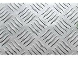 Алюминиевый лист рифленый 1,2-4 мм. Квинтет