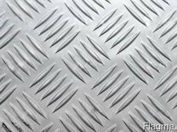 Алюминий Рифленый(4,0мм) с Доставкой - Резка в Размер