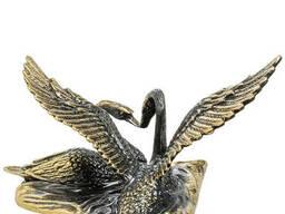 AM-1484 Фигурка Лебеди латунь