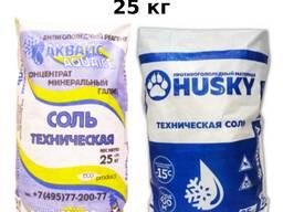 Антигололедный реагент: Соль техническая (25 кг)