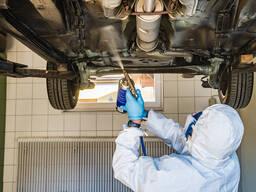Антикорозийная обработка автомобилей