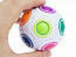 Антистресс игрушка шар (Fidget Toy) белый