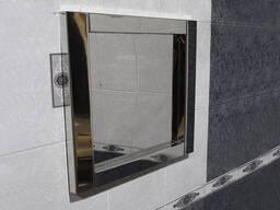 Антивандальное зеркало из нержавеющей стали