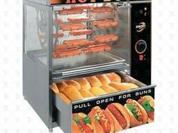 Аппарат для хот-догов Сиком МК-1.44с каруселью и люльками на 44 хот-дога(выдвижной ящик. ..