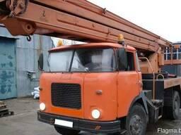 Аренда автовышки 22м, 500 кг кран 12м, 1000 кг (МИНСК)