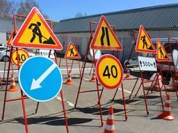 Аренда дорожных знаков и табличек