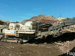 Аренда дробилка Metso LT1313,дробление строительных отходов