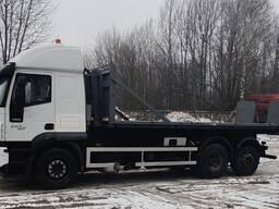 Аренда эвакуатор грузоподемность 20 тонн, открытая площадка (мультилифт), длинна 6.2м