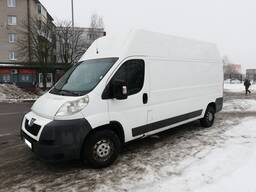 Аренда грузового Микроавтобуса Пежо Боксер