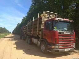 Аренда лесовоза Scania470 2868