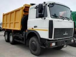 Аренда Маз 5516 Самосвал 20 тонн.