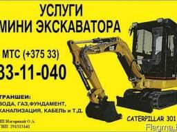 Аренда Мини экскаватора CAT 301.8
