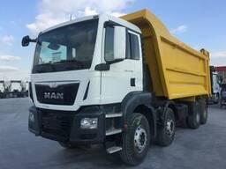 Вывоз строительного мусора, самосвал 20 тонн, Man 33.400