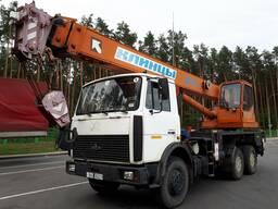 Аренда, услуги автокрана 25 тн. , 21,6 м.