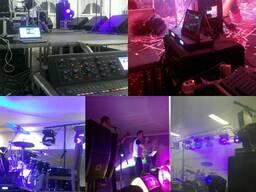 Аренда звукового оборудования в Новополоцк