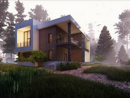 Архитектурная визуализация и анимация