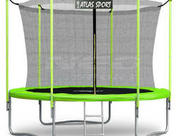 Atlas Sport Батут Atlas Sport 312 см (10ft) (внутренняя сетка и лестница) Green