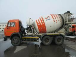 Автобетоносмеситель 58147-035-62 на шасси КАМАЗ 65115-62