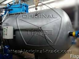 Автоклав для производства многослойных стекол триплекс.