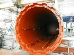 Автоклав установка для термомодификации древесины.