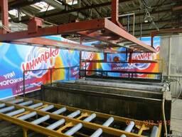 Автоматическая линия по подготовке поверхности металла