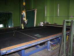 Автоматический стол для раскроя стекла SC3