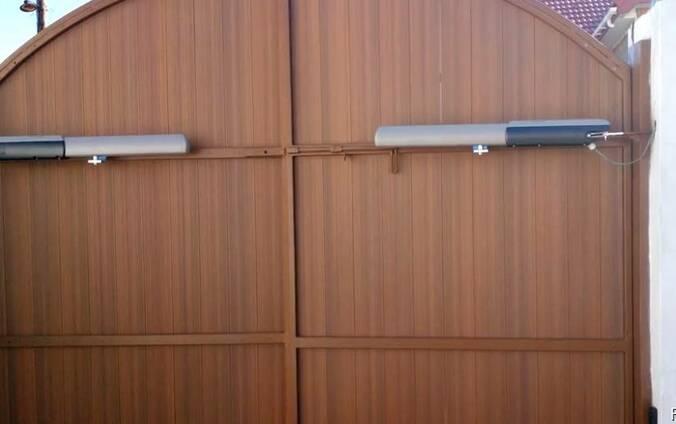 Автоматика для распашных ворот