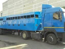 Автомобильный полуприцеп скотовоз САТ-47К