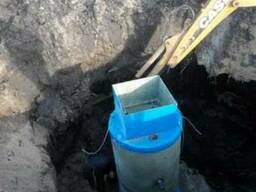 Автономная канализация. Канализация с бетонных колец.