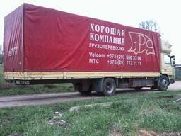Автоперевозки Беларусь - Украина - Беларусь
