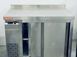 Б/у Стол подогреваемый пристенный двери купе hicold ts 10 gn