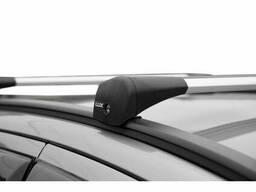 Багажник LUX типа мост для авто Geely Atlas, кроссовер, 2017-… года с дугамикрыло