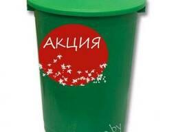 Бак мусорный 80 л, цена без НДС