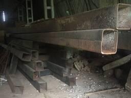 Балка концевая для мостового крана, двутавр, опоры