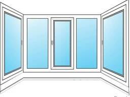 Балконная рама. Современный стеклопакет. Большие скидки...