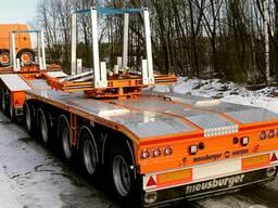 Балковоз Meusburger Новтрак для перевозки мостовых балок весом до 100 тонн
