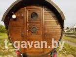 """Баня-бочка на прицепе """"Тихая гавань"""" - фото 10"""