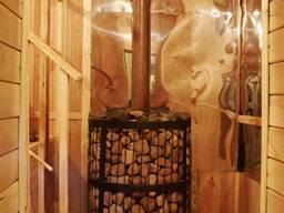 Баня на дровах ЕМЕЛЯ