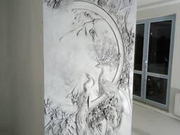 Барельеф, художественная роспись стен