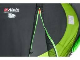 Батут Alpin 4,90м с защитной сеткой и лестницей