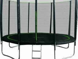 Батут MiSoon 312-10ft-4-Pro с внешней сеткой и лестницей
