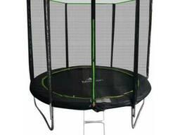 Батут MiSoon 312-10ft-Basic с внешней сеткой и лестницей