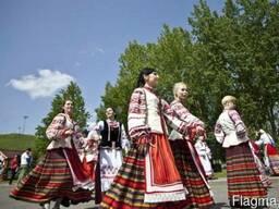 Белорусские танцы. Белорусские игры на корпоративе.